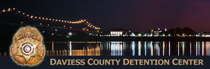 Daviess County Detention Center - Owensboro at Night